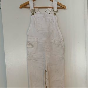 Pants - White Overalls